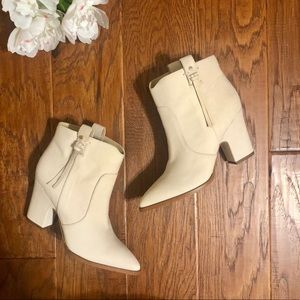 Sam Edelman Cream booties